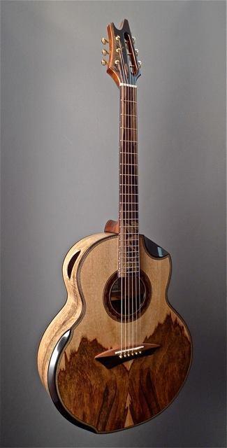 The Mango Tree Jeffrey Yong Guitar Maker